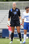 14 September 2014: Duke's Ali Kershner. The Duke University Blue Devils hosted the Louisiana State University Tigers at Koskinen Stadium in Durham, North Carolina in a 2014 NCAA Division I Women's Soccer match. Duke won the game 1-0.