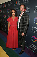 LOS ANGELES, CA -APRIL 7: Chris Payne Gilbert, Lesley-Ann Brandt, at Grand Opening Of The Los Angeles LGBT Center's Anita May Rosenstein Campus at Anita May Rosenstein Campus in Los Angeles, California on April 7, 2019.<br /> CAP/MPIFS<br /> ©MPIFS/Capital Pictures