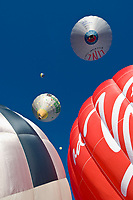 Oesterreich, Salzburger Land, Filzmoos: jaehrlich stattfindenden Internationalen Ballonwochen | Austria, Salzburger Land, Filzmoos: yearly International Hot Air Balloon Week