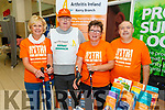 Arthritis Ireland Kerry branch in the Manor West Shopping Centre and Retail Park hosting Kerry's local community organisations for its 'Community on Your Doorstep' exhibition on Saturday. L to r: Ann O'Donnell, Danny Lawlor, Josephine Twiss and Tom Barrett