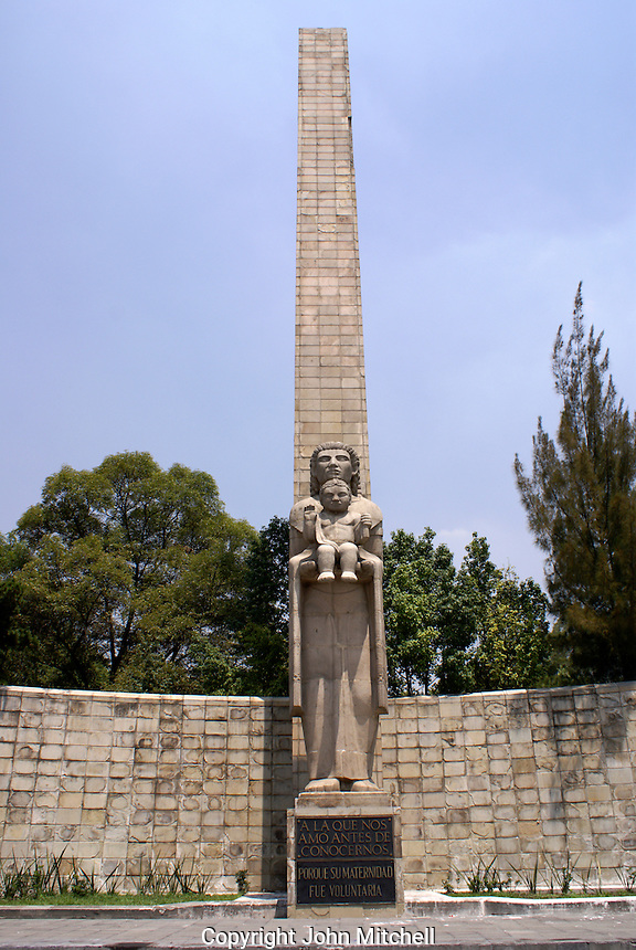 Monumento a la Madre or Motherhood Monument in Mexico City