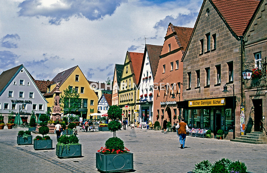 Cidade de Roth na Alemanha. 2000. Foto de Stefan Kolumban.