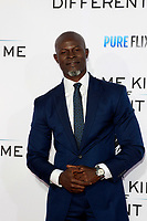 "LOS ANGELES - OCT 12:  Djimon Hounsou at the ""Same Kind of Different as Me"" Los Angeles Premiere at the Village Theater on October 12, 2017 in Westwood, CA"