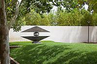 Mirage Sculpture by Ted Schaal at Cerritos Sculpture Gardens
