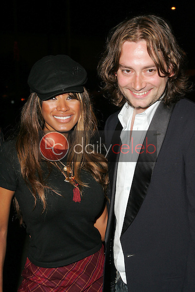 Traci Bingham and Constantine Maroulis<br />
