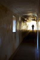 In the Corridors Amber Fort Jaipur