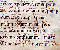BNPS.co.uk (01202 558833)<br /> Pic: PhilYeomans/BNPS<br /> <br /> Woman's touch - 1000 year old book from the Royal Anglo-Saxon Convent of Wilton is conserved.<br /> <br /> The ancient book was returned safely to Salisbury Cathedral after fears of a lockdown led to a hastily arranged emergency dash from the conservators in Cambridge.<br /> <br /> Dating from the 10th century the incredibly rare Psalter is fascinating to medieval scholars for two reasons - it is thought to have been used and adapted by women, and it's latin text has been annotated into early English to aid the understanding of the Anglo Saxon noviates who would have studied it.<br /> <br /> Prof Teresa Webber from Cambridge University notes  'The vast majority of surviving medieval monastic manuscripts survive from communities of monks or canons, but at some point early in its history this psalter was clearly adapted for use by a woman, only a handful of such manuscripts survive to this day'.<br /> <br /> This is likely to indicate the book was in use by the nuns of the Benedictine Convent at nearby Wilton expanded by Alfred the Great after a famous victory against the Viking invaders in 871.