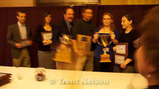 Wyoming Press Association convention Saturday January 17, 2009 in Cheyenne. award winners
