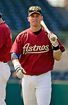 10 March 2006: Craig Biggio, infielder for the Houston Astros, walk to the batting cage prior to a Spring Training game against the Washington Nationals. The Astros defeated the Nationals 8-6 at Osceola County Stadium, in Kissimmee, Florida...Mandatory Photo Credit: Ed Wolfstein..