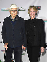 06 February 2020 - Santa Monica, California - Norman Lear and Wife Lyn. US-Ireland Alliance Hosts the 15th Annual Oscar Wilde Awards held at J.J. Abrams Bad Robot Studios. Photo Credit: Dave Safley/AdMedia