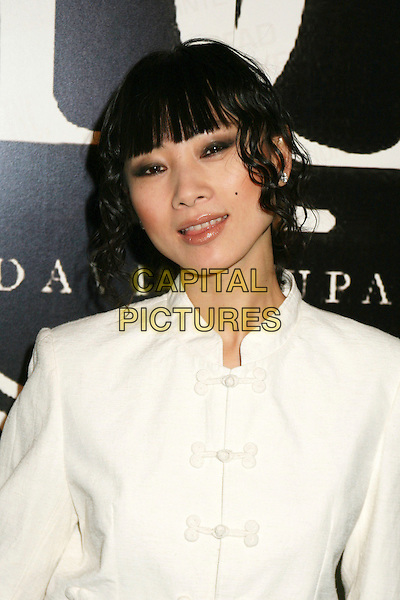 BAI LING.David Tupaz Luxe Wear Fashion Show, Beverly Hills, California, USA.March 19th, 2006.Photo: Byron Purvis/AdMedia/Capital Pictures.Ref: BP/ADM.headshot portrait white.www.capitalpictures.com.sales@capitalpictures.com.© Capital Pictures.