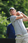 Chris Wood Teeing off on the 14th on day two of the Celtic Manor wales Open 2010.Picture Fran Caffrey/Newsfile.ie