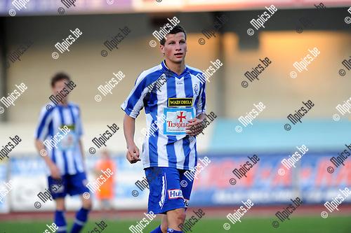 2012-09-04 / Voetbal / seizoen 2012-2013 / KV Turnhout / Niels Van de Vel..Foto: Mpics.be