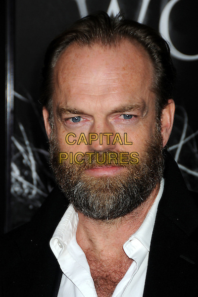 "HUGO WEAVING .""The Wolfman"" Los Angeles Premiere held at Arclight Cinemas, Hollywood, California, USA, .9th February 2010.arrivals portrait headshot beard facial hair hairy chest .CAP/ADM/BP.©Byron Purvis/AdMedia/Capital Pictures."