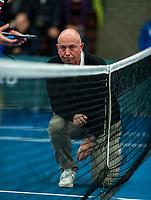 Alphen aan den Rijn, The Netherlands, 25 Januari 2019, ABNAMRO World Tennis Tournament, Supermatch, Final,  Chief of Umpires Rob Mulder<br /> <br /> Photo: www.tennisimages.com/Henk Koster