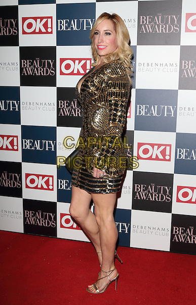 Joy Desmond at The Beauty Awards with OK! and Debenhams Beauty Club at Banqueting House, Whitehall, London on November 24th 2016<br /> CAP/JIL<br /> &copy; Jill Mayhew/Capital Pictures