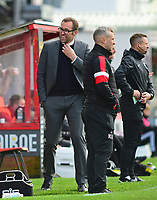 Crewe Alexandra manager David Artell in his technical area<br /> <br /> Photographer Andrew Vaughan/CameraSport<br /> <br /> The EFL Sky Bet League Two - Lincoln City v Crewe Alexandra - Saturday 6th October 2018 - Sincil Bank - Lincoln<br /> <br /> World Copyright &copy; 2018 CameraSport. All rights reserved. 43 Linden Ave. Countesthorpe. Leicester. England. LE8 5PG - Tel: +44 (0) 116 277 4147 - admin@camerasport.com - www.camerasport.com
