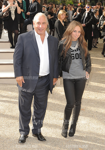 Philip and Chloe Green arrives for the Burberry fashion show as part of London Fashion Week at the Chelsea College of Art and Design, London.  22/09/2010  Picture by: Simon Burchell / Featureflash