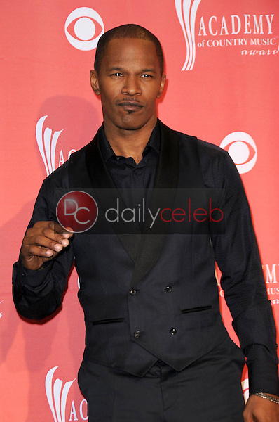 Jamie Foxx<br />in the press room at the 44th Annual Academy of Country Music Awards. MGM Grand Garden Arena, Las Vegas, NV. 04-05-09<br />Dave Edwards/DailyCeleb.com 818-249-4998