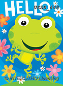 Sarah, CHILDREN BOOKS, BIRTHDAY, GEBURTSTAG, CUMPLEAÑOS, paintings+++++Frogs-17-A,USSB448,#BI#, EVERYDAY