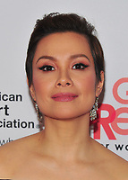NEW YORK, NY - February 8: Lea Salonga attends the Red Dress / Go Red For Women Fashion Show at Hammerstein Ballroom on February 8, 2018 in New York City Credit: John Palmer / Media Punch