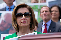 Speaker of the United States House of Representatives Nancy Pelosi (Democrat of California) during a press conference on Capitol Hill in Washington D.C., U.S. to discuss health care coverage for those with pre-existing conditions on July 9, 2019.<br /> CAP/MPI/RS<br /> ©RS/MPI/Capital Pictures