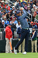 Bernd Wiesberger (AUT) watches his tee shot on 17 during round 4 of the 2019 US Open, Pebble Beach Golf Links, Monterrey, California, USA. 6/16/2019.<br /> Picture: Golffile | Ken Murray<br /> <br /> All photo usage must carry mandatory copyright credit (© Golffile | Ken Murray)