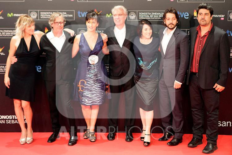 closing ceremony during the 61st San Sebastian Film Festival in the Northern Spanish Basque city of San Sebastian on September 27, 2013. (ALTERPHOTOS/Victor Blanco)