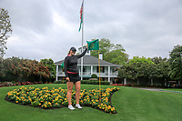 Olivia Mehaffey (NIR) after the practice round of the Augusta National Womans Amateur 2019, Champions Retreat, Augusta, Georgia, USA. 05/04/2019.<br /> Picture Fran Caffrey / Golffile.ie<br /> <br /> All photo usage must carry mandatory copyright credit (&copy; Golffile | Fran Caffrey)