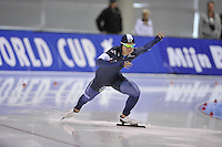 SPEED SKATING: SALT LAKE CITY: 20-11-2015, Utah Olympic Oval, ISU World Cup, 500m B-Division, Jun-Ho Kim (KOR), ©foto Martin de Jong