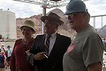 Hoover Dam 75th Anniversary rededication Sept. 30 2010 with speech from President Franklin D Roosevelt (look a Like)