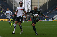 Newcastle United's Jonjo Shelvey and Preston North End's Ben Davies<br /> <br /> Photographer Stephen White/CameraSport<br /> <br /> Football Pre-Season Friendly - Preston North End v Newcastle United - Saturday July 27th 2019 - Deepdale Stadium - Preston<br /> <br /> World Copyright © 2019 CameraSport. All rights reserved. 43 Linden Ave. Countesthorpe. Leicester. England. LE8 5PG - Tel: +44 (0) 116 277 4147 - admin@camerasport.com - www.camerasport.com