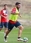 Getafe CF's Jorge Molina during training session. August 1,2017.(ALTERPHOTOS/Acero)