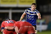 Tom Ellis of Bath Rugby. Gallagher Premiership match, between Bath Rugby and Sale Sharks on December 2, 2018 at the Recreation Ground in Bath, England. Photo by: Patrick Khachfe / Onside Images
