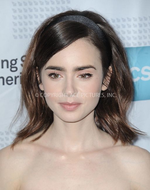 www.acepixs.com<br /> <br /> January 19 2017, LA<br /> <br /> Actress Lily Collins arriving at the 2017 Annual Artios Awards at The Beverly Hilton Hotel on January 19, 2017 in Beverly Hills, California<br /> <br /> By Line: Peter West/ACE Pictures<br /> <br /> <br /> ACE Pictures Inc<br /> Tel: 6467670430<br /> Email: info@acepixs.com<br /> www.acepixs.com