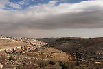 Judea, Hebron Mountain.  A view of Artas from settlement Givat Hadagan