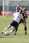 27 June 2004: Kelly Smith (8) and Michelle French (12). The Philadelphia Charge defeated the San Jose CyberRays 2-0 at the Home Depot Center in Carson, CA in Womens United Soccer Association soccer game featuring guest players from other teams.