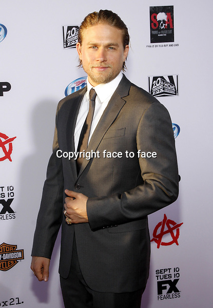 "Charlie Hunnam at the FX's Season 6 Premiere Screening of ""Sons Of Anarchy"" held at the Dolby Theatre in Hollywood on September 7, 2013 in Los Angeles, California. Credit: PopularImages/face to face"