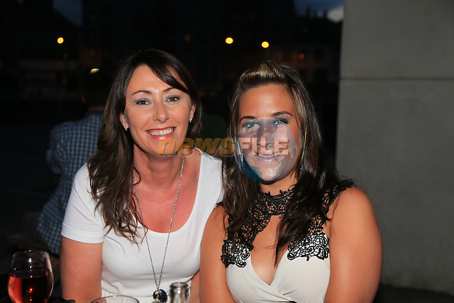 Tracey shelbourne<br /> Evelyn Brady<br /> in Cairns<br /> Picture:  www.newsfile.ie