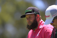 Andrew Johnston (ENG) in action on the 2nd during Round 2 of the ISPS Handa World Super 6 Perth at Lake Karrinyup Country Club on the Friday 9th February 2018.<br /> Picture:  Thos Caffrey / www.golffile.ie<br /> <br /> All photo usage must carry mandatory copyright credit (&copy; Golffile | Thos Caffrey)