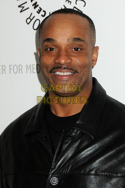 "ROCKY CARROLL.27th Annual Paley Fest: William S. Paley Television Festival - ""NCIS"" held at The Saban Theatre, Beverly Hills, California, USA..March 1st, 2010.headshot portrait  moustache mustache facial hair.CAP/ADM/BP.©Byron Purvis/AdMedia/Capital Pictures."