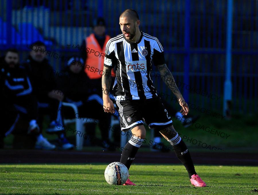 Fudbal Jelen Super League season 2015-2016<br /> Spartak v Partizan<br /> Ivan Bandalovski<br /> Subotica, 29.11.2015.<br /> foto: Srdjan Stevanovic/Starsportphoto&copy;