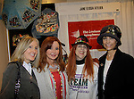 """Jacklyn Zeman """"Bobbie Spencer"""" - General Hospital poses with her sister Carol (L), designer Jane Elissa and Lauri Landry - """"Nicole Love"""" Another World as they raise money for Leukemia and Cancer Research. Photo by Sue Coflin/Max Photos)"""