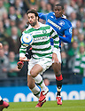 ::  CELTIC'S GEORGIOS SAMARAS GETS AWAY FROM RANGERS' MAURICE EDU ::
