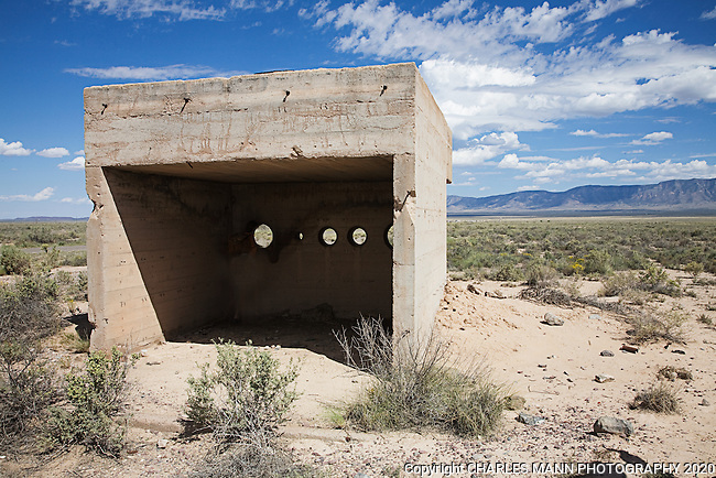 The Trinity Test Site, where the first atomic bomb was exploded on July 16, 1945, is open to the public on the first Saturday of April and October. The remnants of the West 10,000 yard Observation Bunker is occasionally open to visitors by special request.
