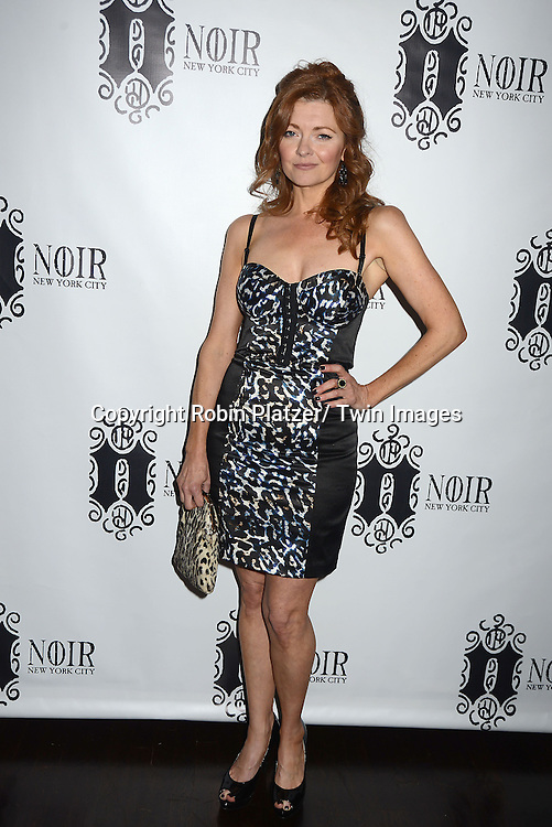 Anne Sayre attends the Marcia Tovsky Soap Stars Party on May 9, 2013 at NOIR, NYC  in New York City.