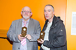 Appreciation awards to Murt Murphy and Eamond McCarthy at The Kerry Area Basketball Board annual Awards and Medal presentations at the Kingdom Greyhound Stadium Tralee on  Tuesday