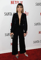 www.acepixs.com<br /> <br /> February 1 2017, LA<br /> <br /> Natalie Morales arriving at the premiere Of Netflix's 'Santa Clarita Diet' at the ArcLight Cinemas Cinerama Dome on February 1, 2017 in Hollywood, California<br /> <br /> By Line: Peter West/ACE Pictures<br /> <br /> <br /> ACE Pictures Inc<br /> Tel: 6467670430<br /> Email: info@acepixs.com<br /> www.acepixs.com