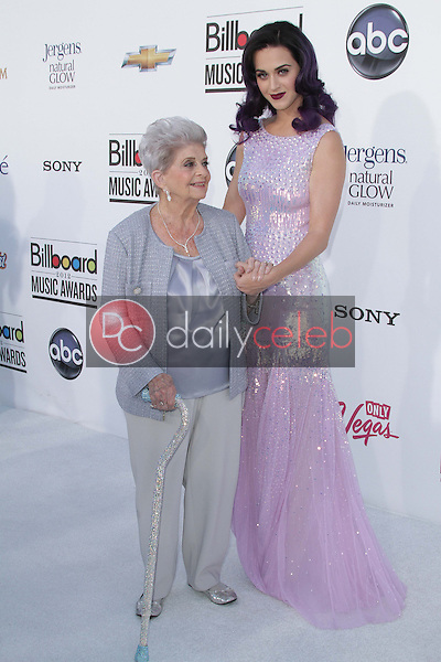 Katy Perry and her Grandmother<br />
