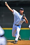 11 March 2009: Detroit Tigers' pitcher Justin Verlander on the mound during a Spring Training game against the New York Yankees at Joker Marchant Stadium in Lakeland, Florida. The Tigers defeated the Yankees 7-4 in the Grapefruit League matchup. Mandatory Photo Credit: Ed Wolfstein Photo
